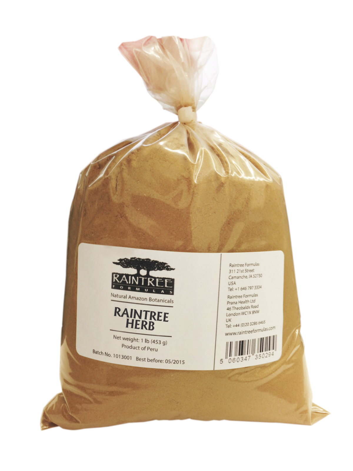 Raintree Chá de Bugre Powder 1lb