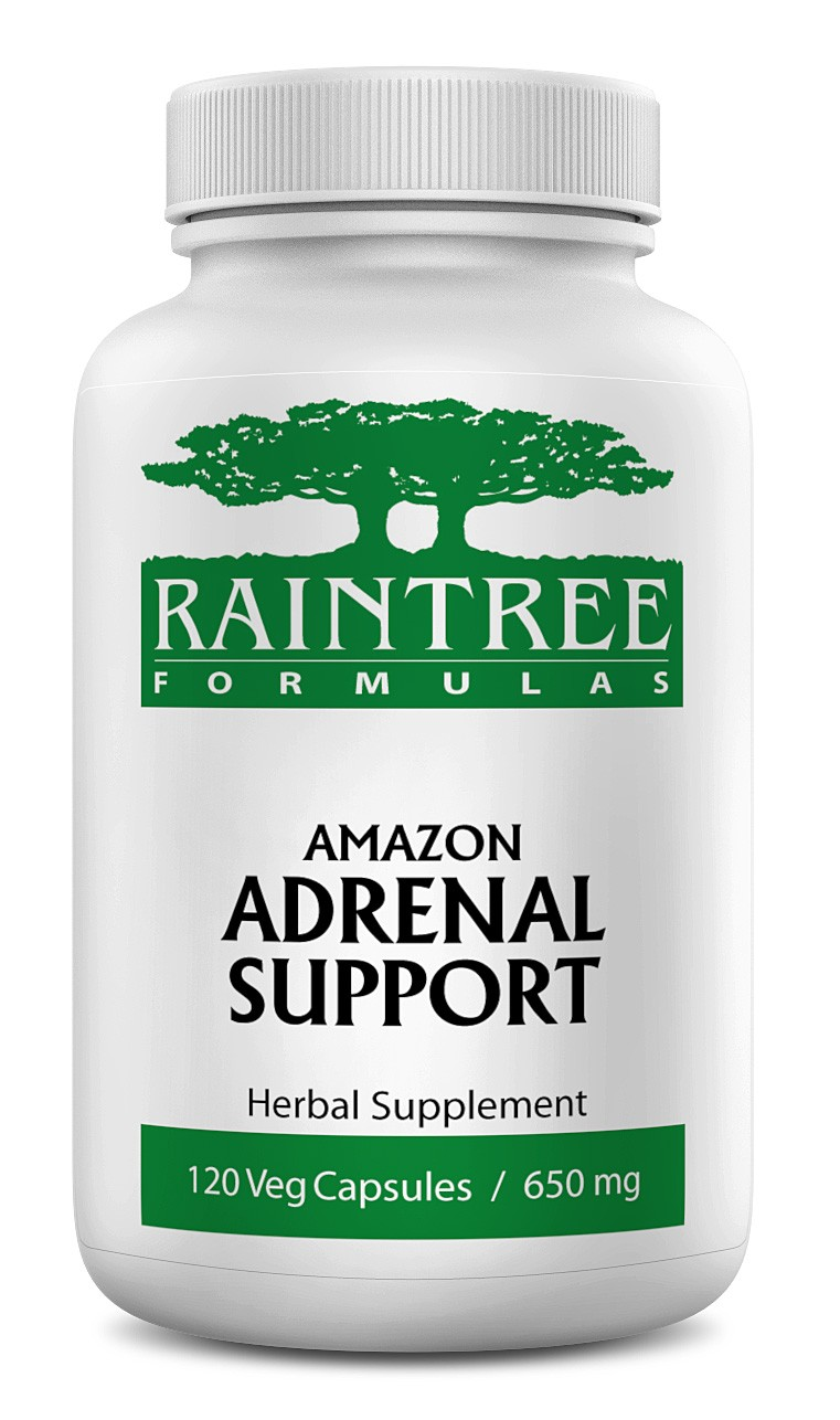 Raintree Amazon Adrenal Support 650 mg 120 Capsules