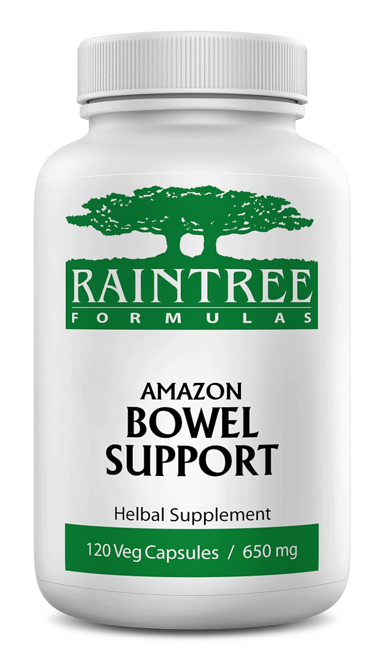 Raintree Amazon Bowel Support 650mg 120 Capsules