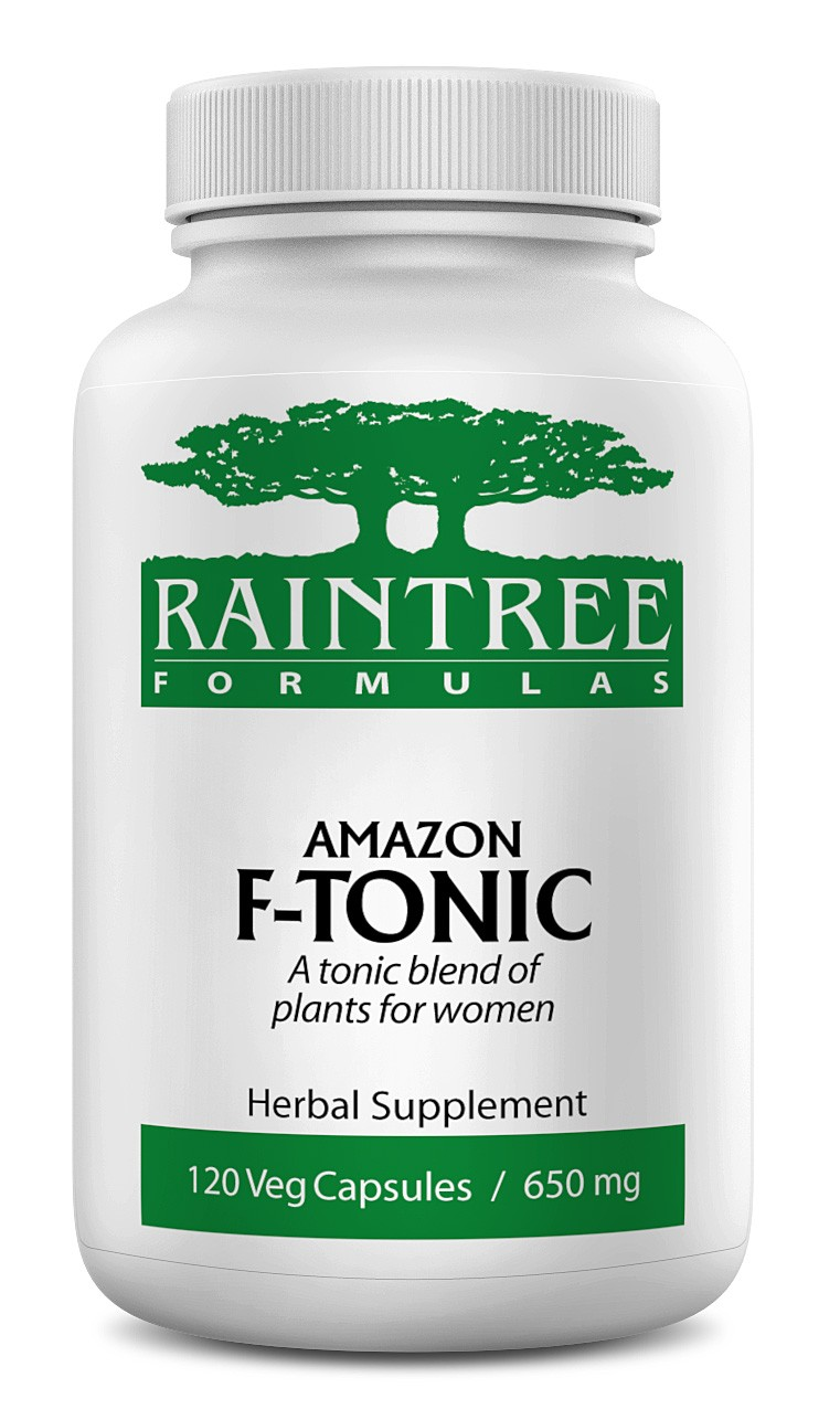 Raintree Amazon F-Tonic 650mg 120 Capsules