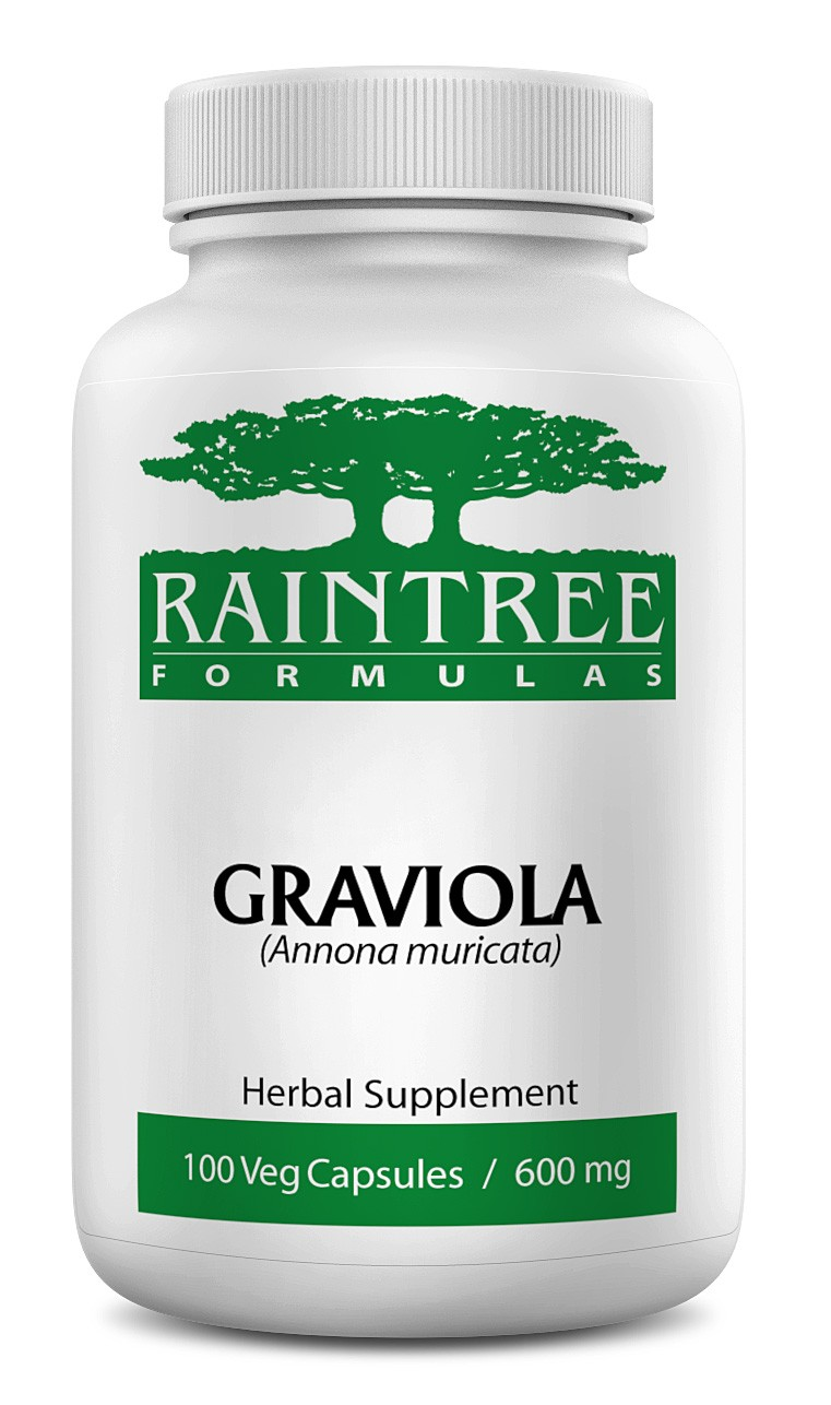 Raintree Graviola 600 mg 100 Capsules