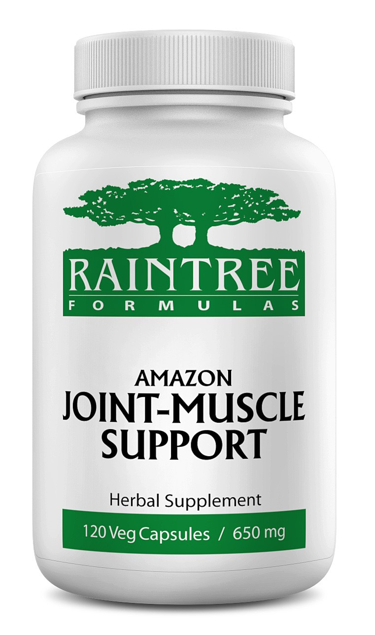 Raintree Amazon Joint-Muscle Support 650 mg 120 Capsules