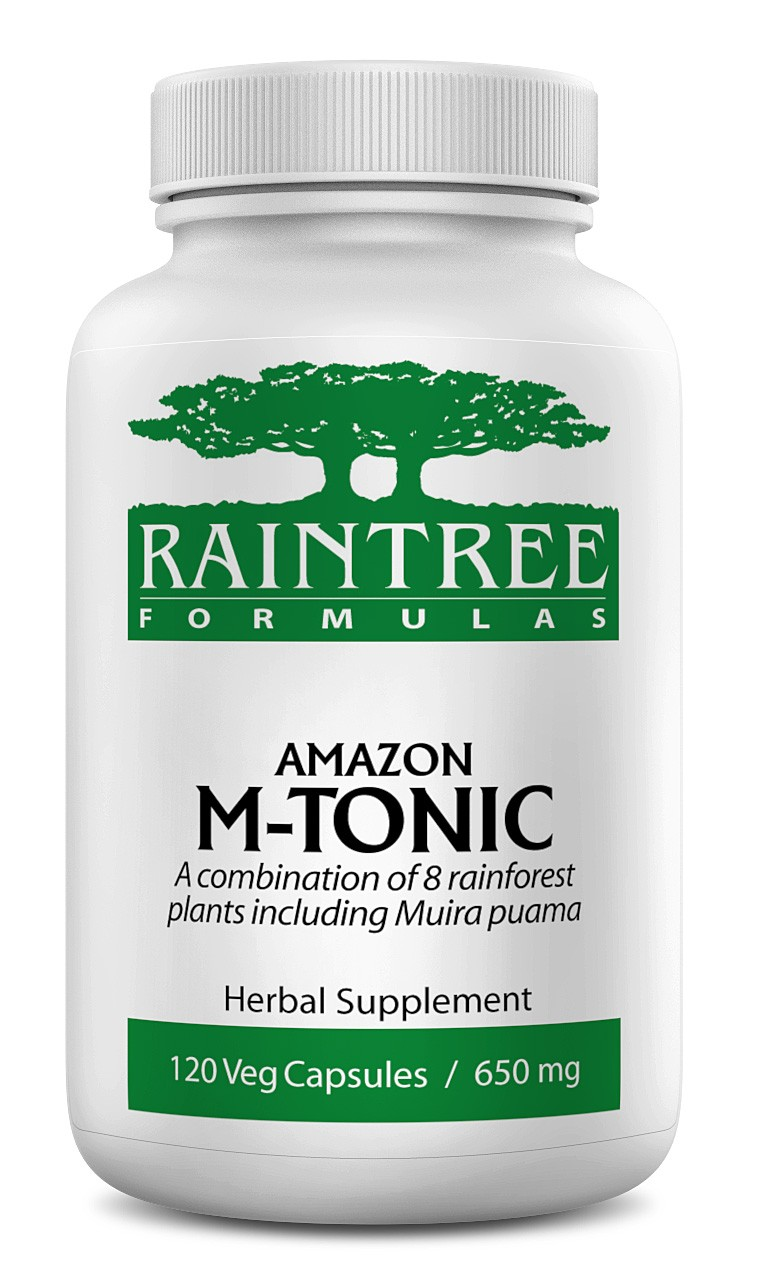 Raintree Amazon M-Tonic 650 mg 120 Capsules