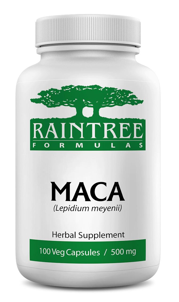 Raintree Maca 500 mg 100 Capsules