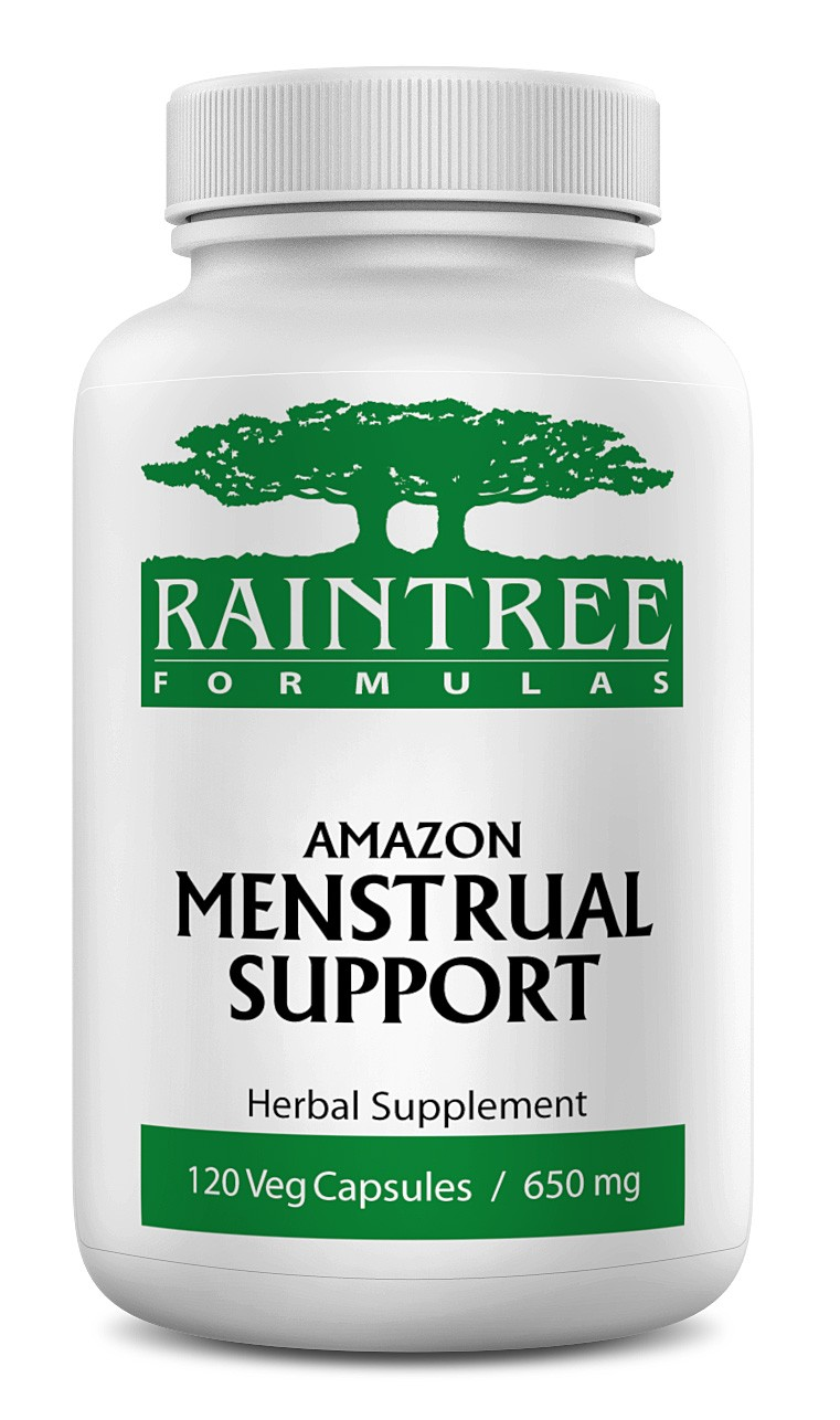 Raintree Amazon Menstrual Support 650 mg 120 Capsules