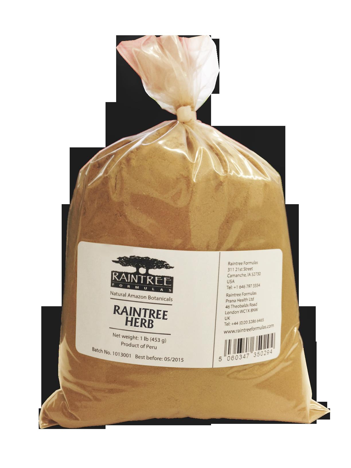 Raintree Espinheira Santa (Maytenus ilicifolia) Powder 16 oz (1lb)