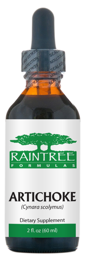 Raintree Artichoke Extract (Cynara scolymus) 2 oz (60ml)