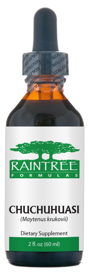 Raintree Chuchuhuasi Extract (Maytenus krukovii) 2 oz (60ml)