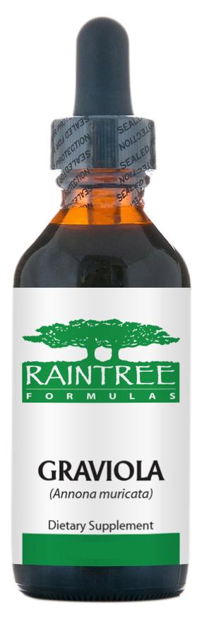 Raintree Graviola Extract (Annona muricata) 4 oz (120ml)