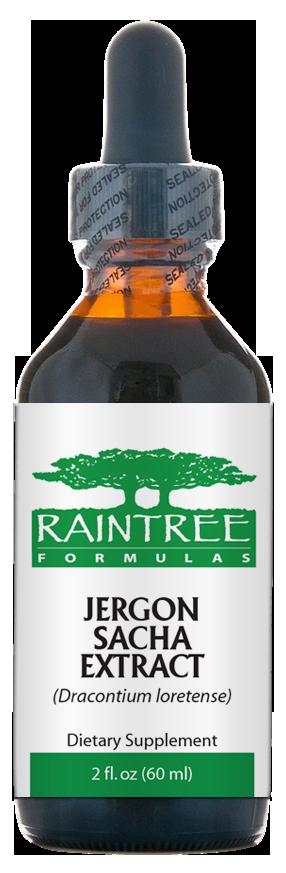 Raintree Jergon Sacha Extract (Dracontium loretense) 2 oz (60ml)