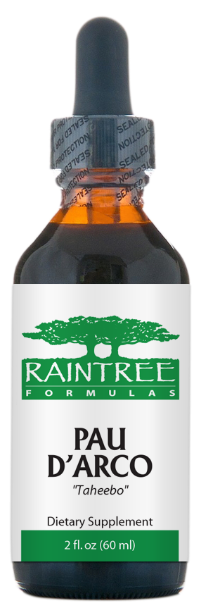 Raintree Pau d'arco Extract (Tabebuia impetiginosa) 2 oz (60ml)