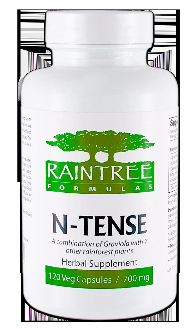 Raintree N-Tense 700 mg 120 Capsules