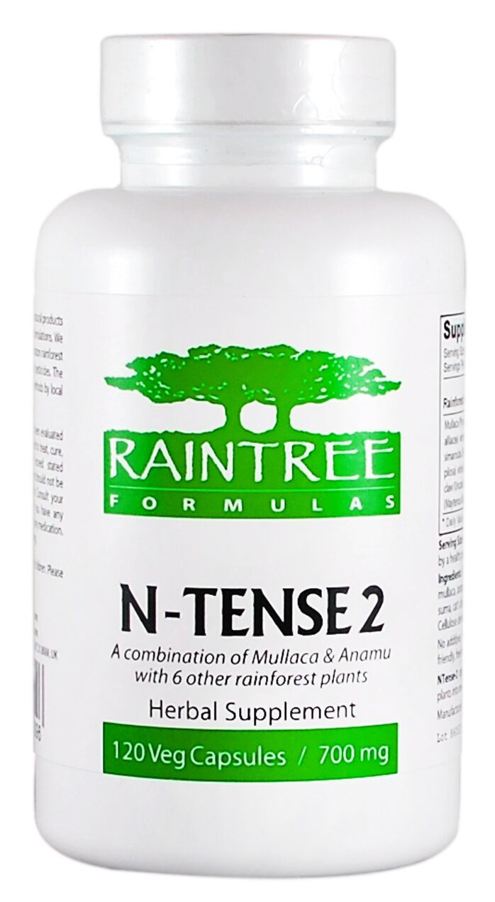 Raintree N-Tense 2 700 mg 120 Capsules
