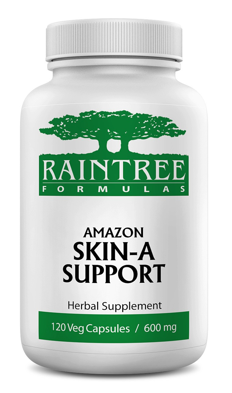 Raintree Amazon Skin-A Support 600 mg 120 Capsules