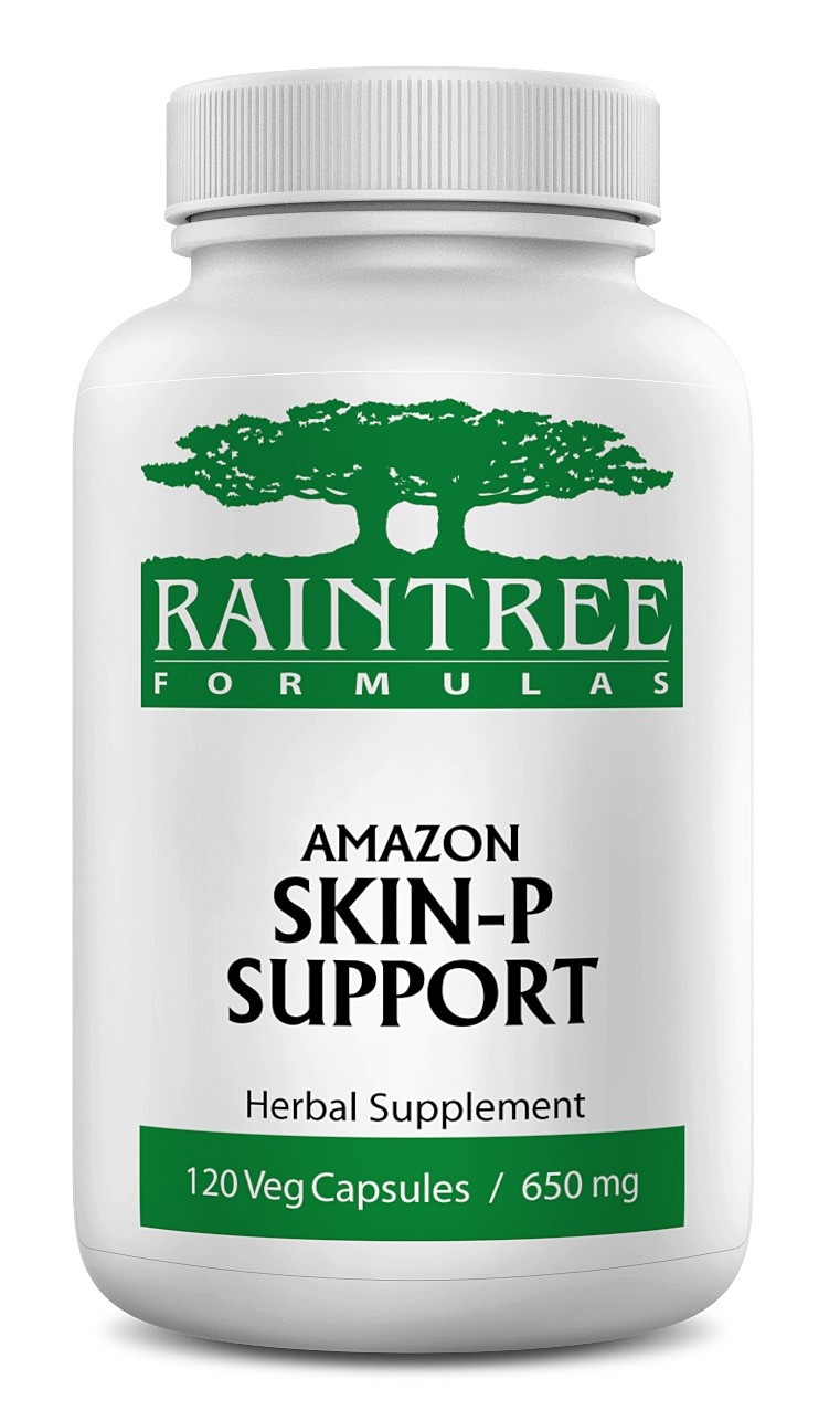 Raintree Amazon Skin-P Support 650 mg 120 Capsules