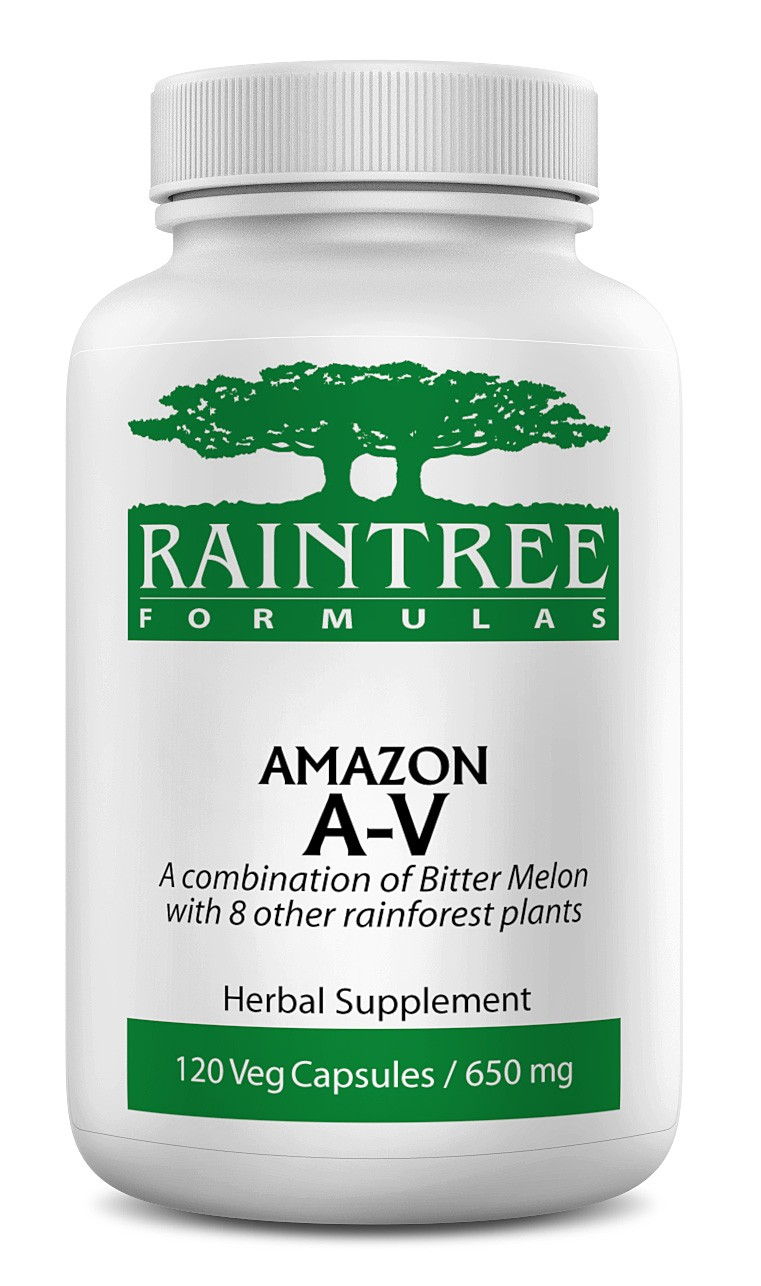 Raintree Amazon A-V Anti-Viral 650 mg 120 Capsules