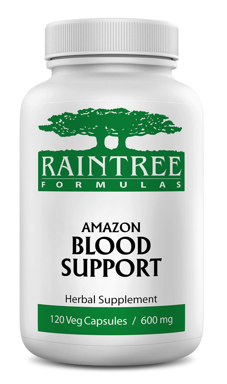 Raintree Amazon Blood Support 600mg 120 Capsules