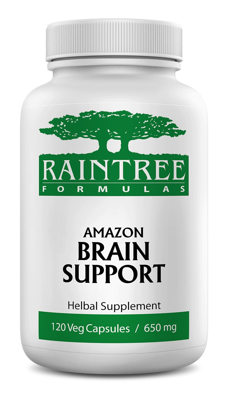 Raintree Amazon Brain Support 650mg 120 Capsules