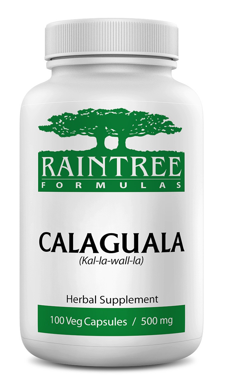 Raintree Calaguala 500 mg 100 Capsules (kal-la-wall-la, Polypodium leucotomos & decumanum)
