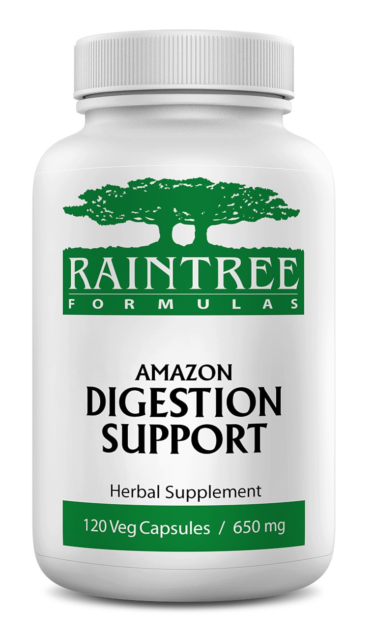 Raintree Amazon Digestion Support 650mg 120 Capsules