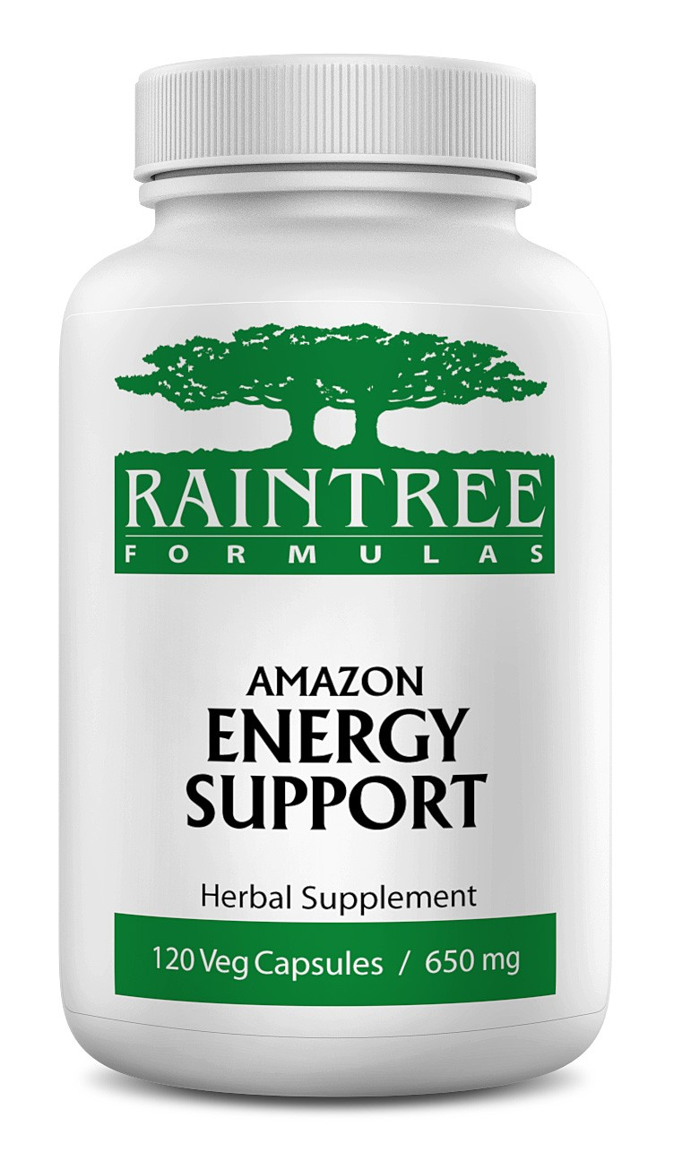 Raintree Amazon Energy Support 650 mg 120 Capsules