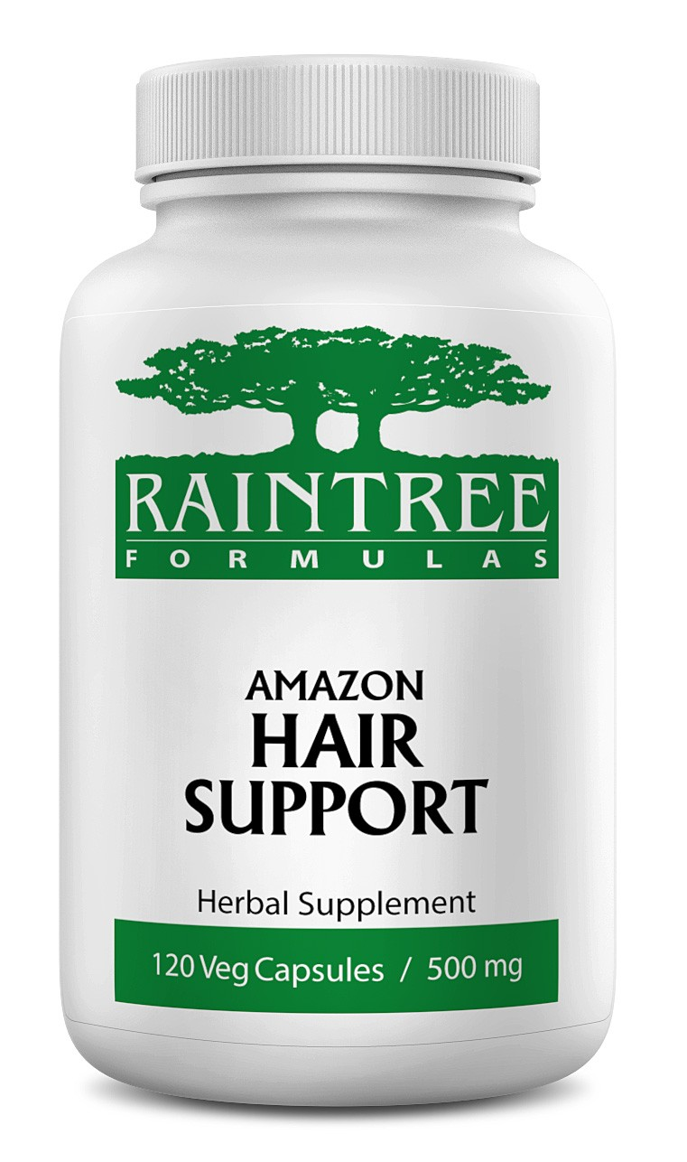 Raintree Amazon Hair Support 650 mg 120 Capsules