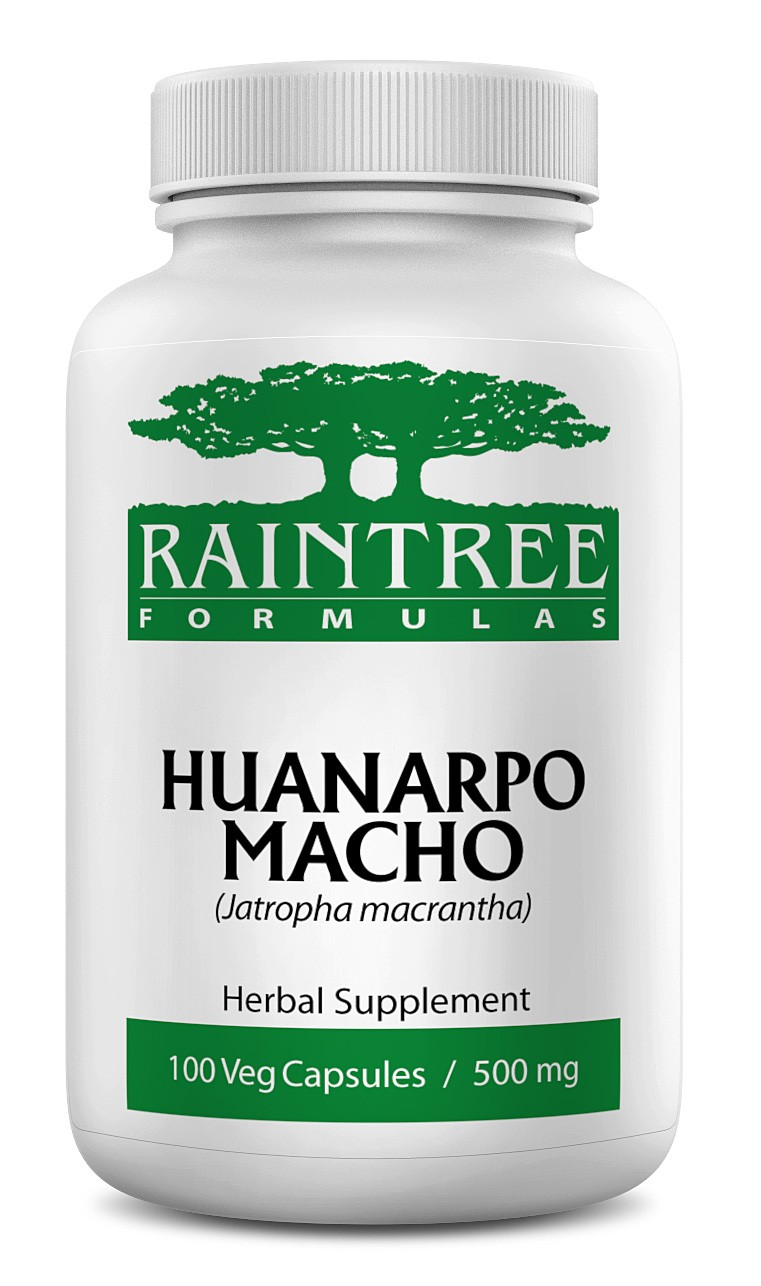 Raintree Huanarpo Macho 500 mg 100 Capsules