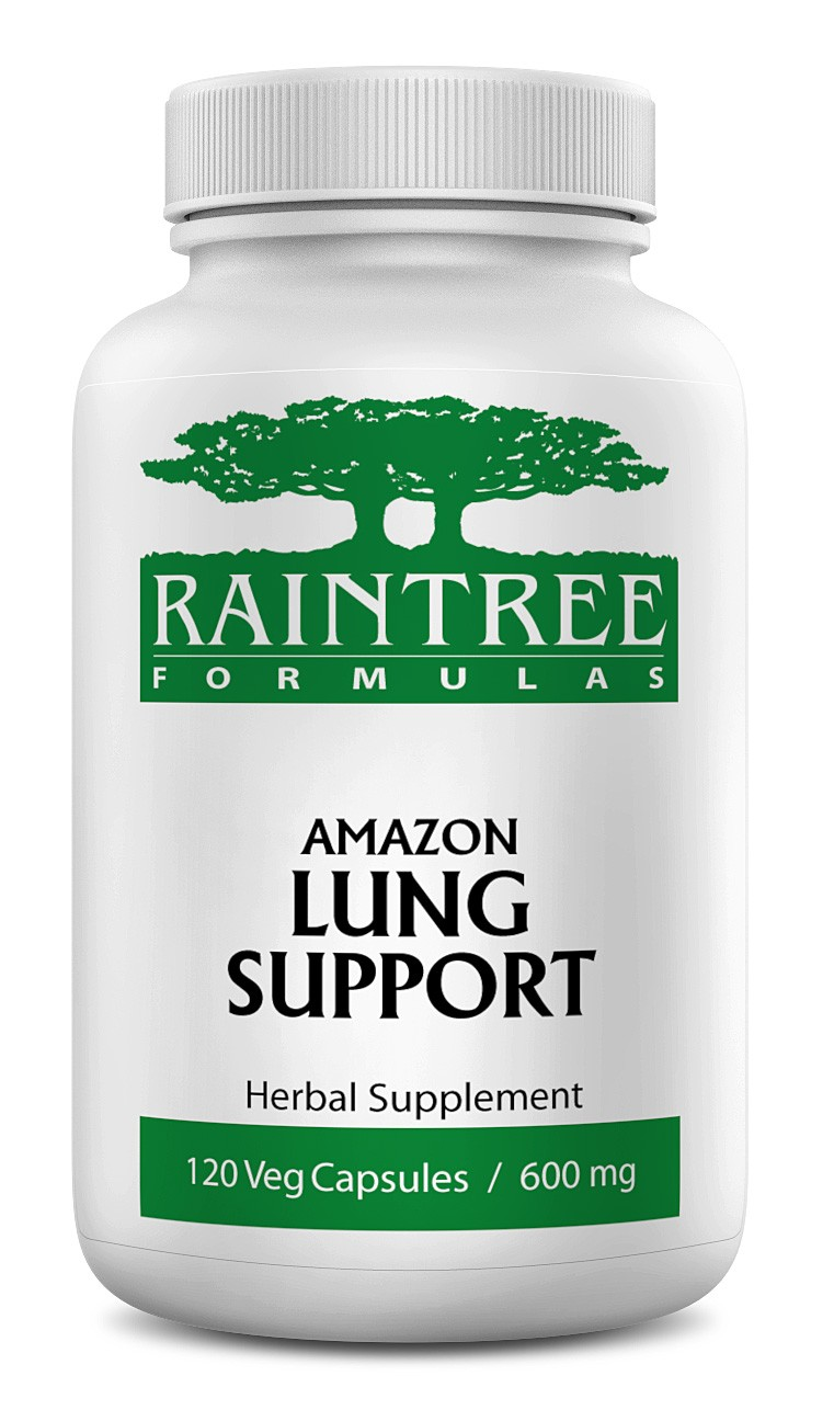 Raintree Amazon Lung Support 600 mg 120 Capsules