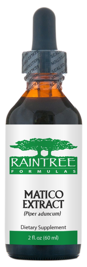 Raintree Matico Extract (Piper aduncum) 2 oz (60ml)