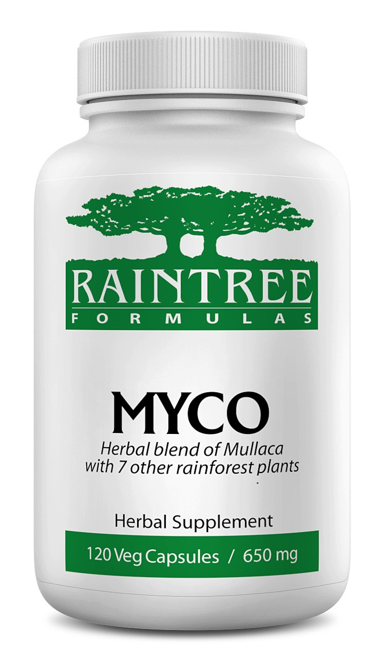 Raintree Myco 650 mg 120 Capsules