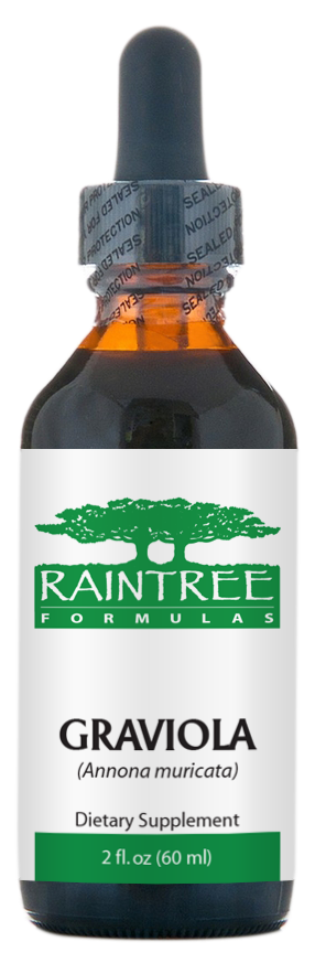 Raintree Graviola Glycerine Extract (Annona muricata) 2 oz (60ml)