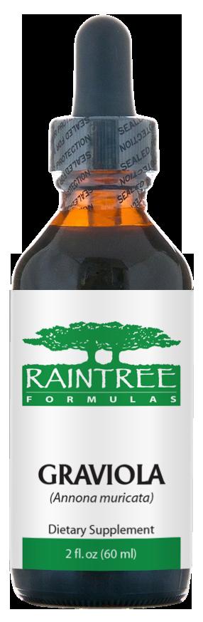 Raintree Graviola Glycerine Extract (Annona muricata) 2 oz (60ml)