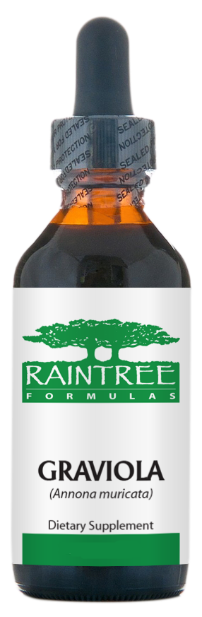 Raintree Graviola Glycerine Extract (Annona muricata) 4 oz (120ml)
