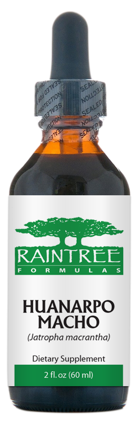 Raintree Huanarpo Macho Glycerine Extract (Jatropha macrantha) 2 oz (60ml)