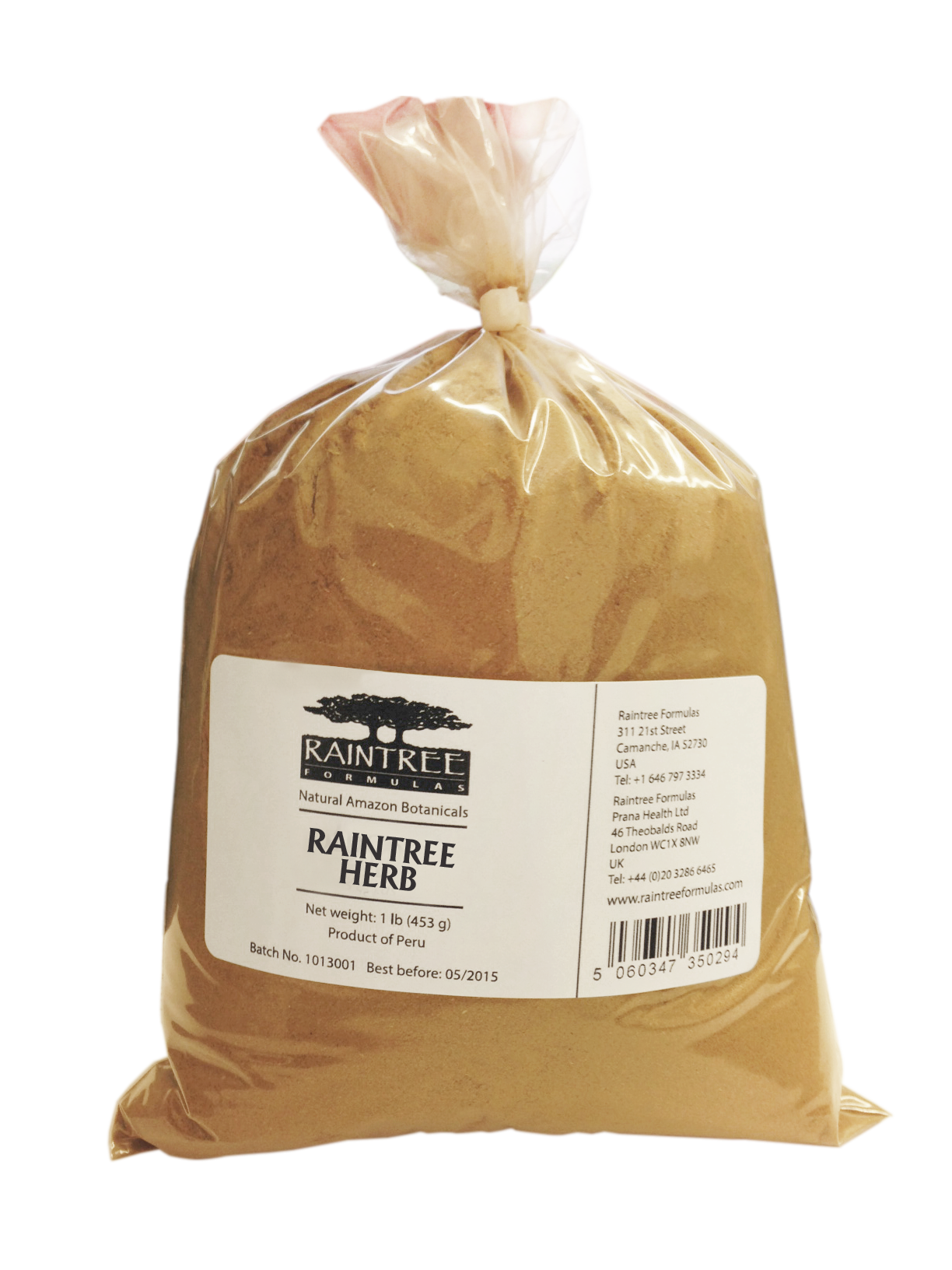 Raintree Mulungu Powder 1lb