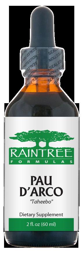 Raintree Pau d'arco Extract (Tabebuia impetiginosa) 4 oz (120ml)