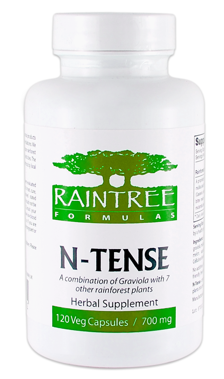 Raintree N-Tense 700 mg 120 Capsules