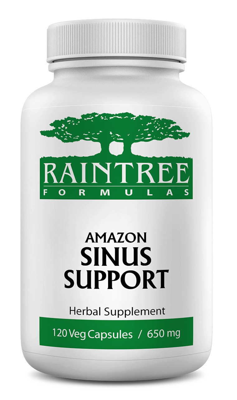 Raintree Amazon Sinus Support 650 mg 120 Capsules