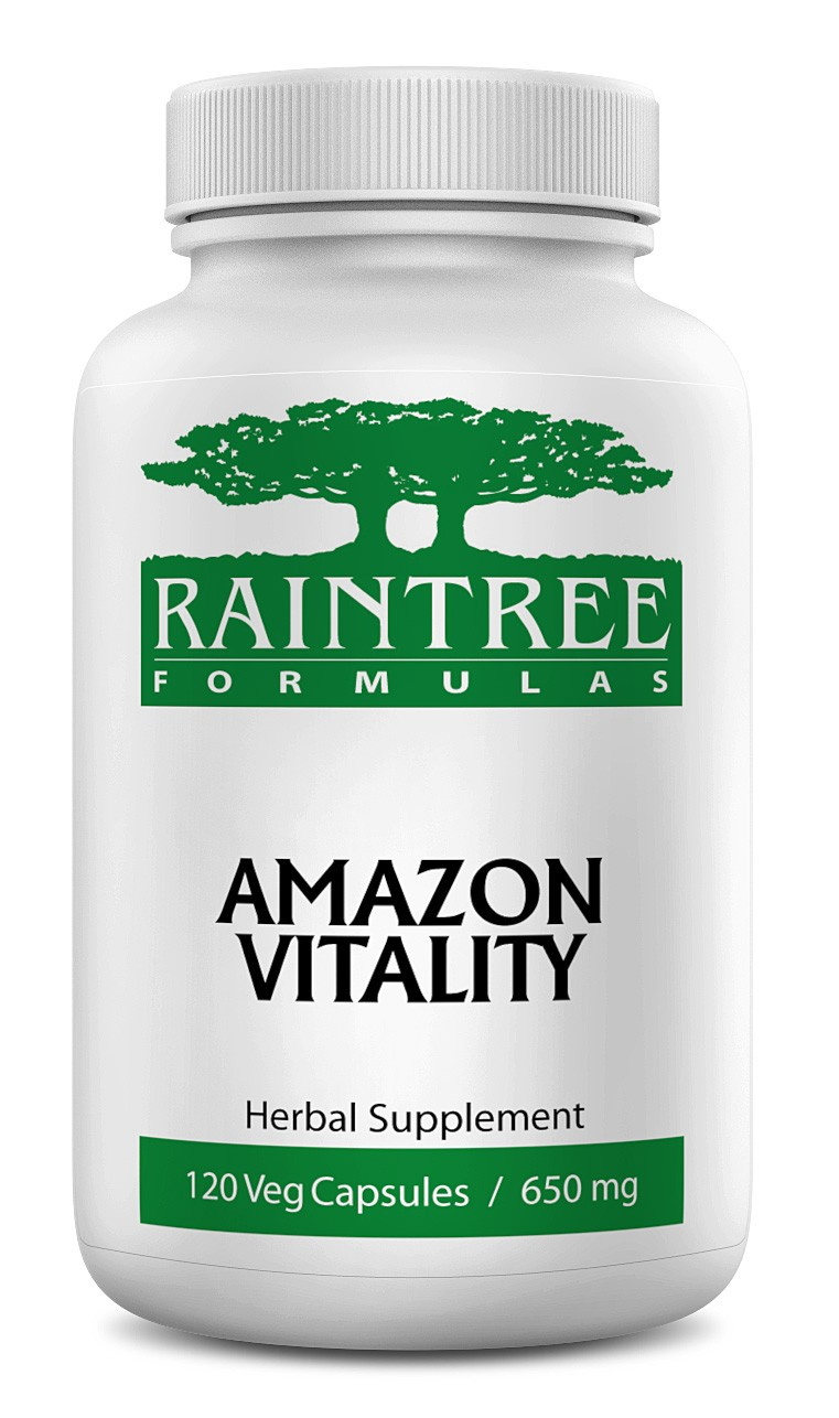 Raintree Amazon Vitality 650 mg 120 Capsules